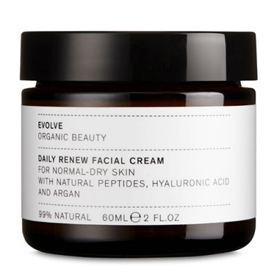 Evolve Organic Beauty Daily Renew Facial Cream (60 ml)