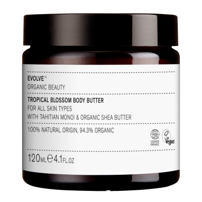 Evolve Organic Beauty Tropical Blossom Body Butter (120 ml)