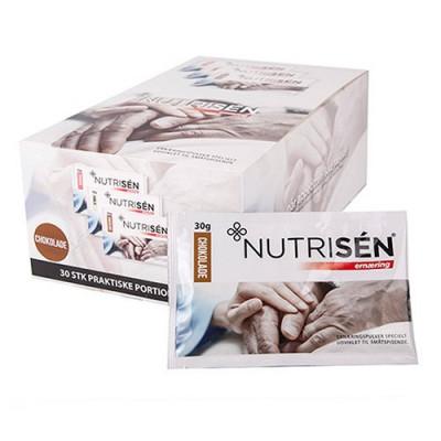 Nutrisén Ernæringspulver, Chokolade (30 x 30g)