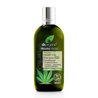 Dr. Organic Shampoo & Conditioner Hemp oil (265 ml)