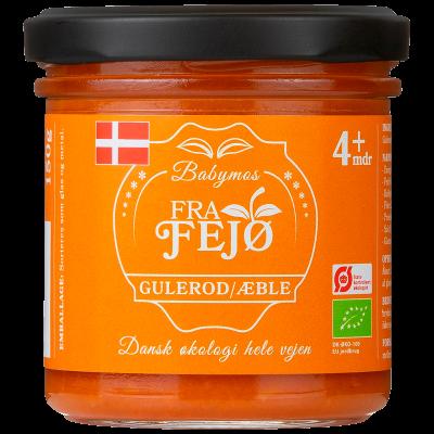 Fra Fejø Babymos Gulerod/Æble Ø (150 g)