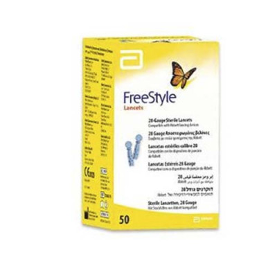 FreeStyle Lancetter - Steril (50 stk)