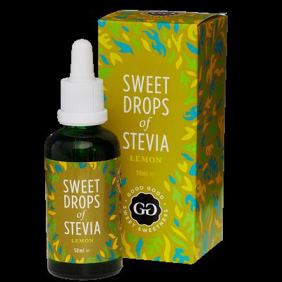 Good Good Stevia Dråber Citron (50 ml)