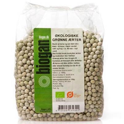 tørrede grønne ærter opskrift