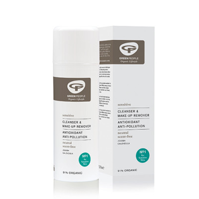 Green People Cleanser & Make-Up Remover Uden Duft (200 ml)