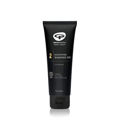 Green People Organic Homme Shave Now Wash & Shave Gel Nr. 2 (125 ml)