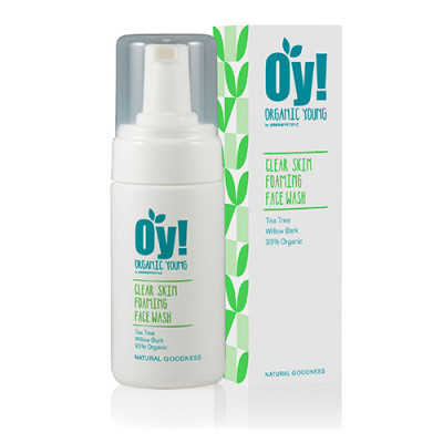 GreenPeople Anti-Bacterial Foaming Facewash OY! (100 ml)
