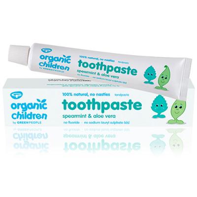 GreenPeople Childrens Spearmint Toothpaste (50 ml) (Helsebixen)