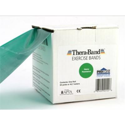 Thera-Band elastik bånd 45m (Sort - Hård)