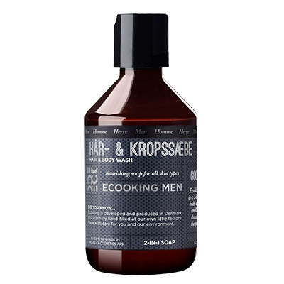 Ecooking Hår- & Kropssæbe (250 ml)