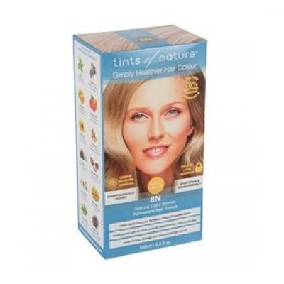 Hårfarve 8N Light Blonde Tints of Nature 120 ml.