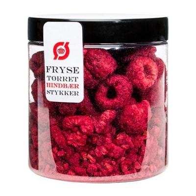 Hindbær Stykker Frysetørret Ø (35 gr)