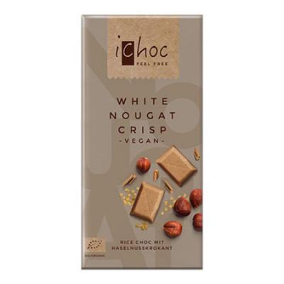 Ichok White Nougat Crisp Choco Ø (80 gram)