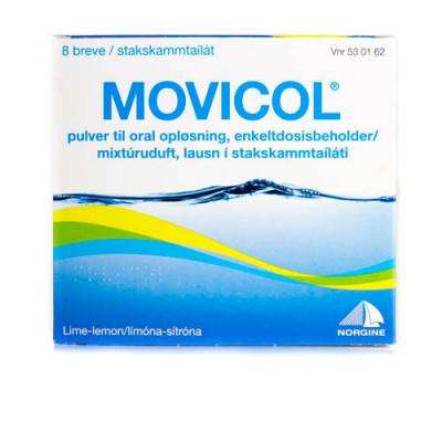Movicol Pulver Oral Opløsning (8 breve)