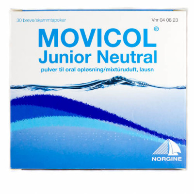 Movicol Junior Pulver Oral Opløsning (30 breve)