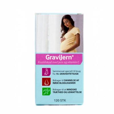GraviJern Depottablet (120 kap)
