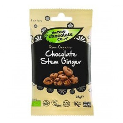 The Raw Chololate Co. Ingefær m. rå chokolade Ø (28 g)
