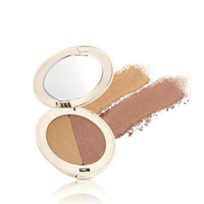 Jane Iredale PurePressed Duo Eye Shadow Golden Peach (1 stk)