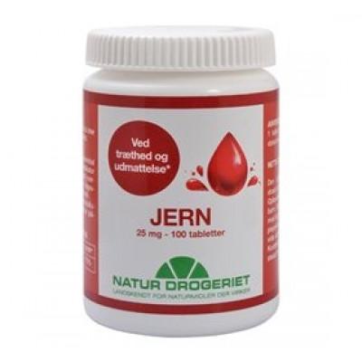 Natur Drogeriet Jern Complex 25 mg (100 tabletter)