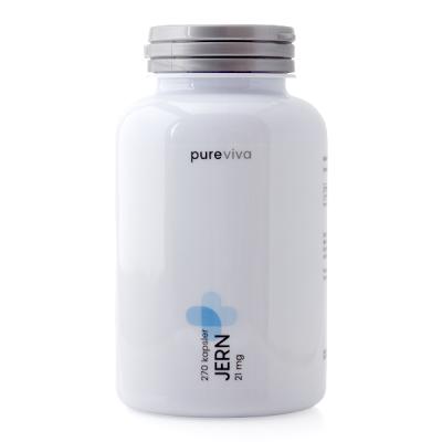Pureviva Jern (21 mg) (270 kap)