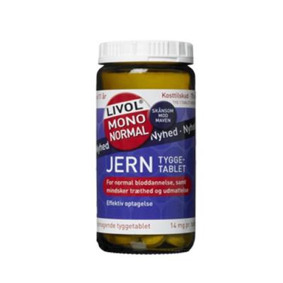 Livol Mono Normal Jern (75 tabletter)