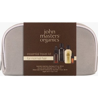 John Masters Travel Kit For Normal Hair + pouch