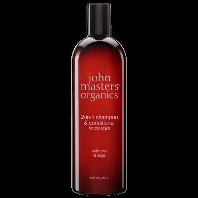 John Masters Zinc & Sage Shampoo With Conditioner (473 ml)