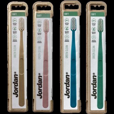 Jordan Green Clean Tandbørste Soft (1 stk)
