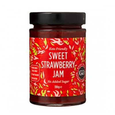 Jordbærmarmelade med Stevia