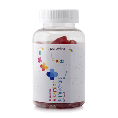 Pureviva Kid's Vitamins & Minerals (60 gummies)