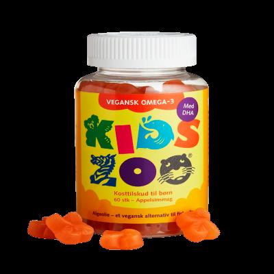 Kids Zoo Omega-3 Gummies Vegansk (60 gummies)
