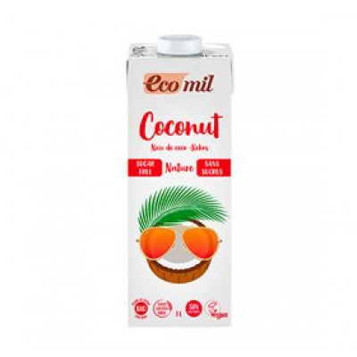 Kokos mælk u. sukker Ø Ecomil