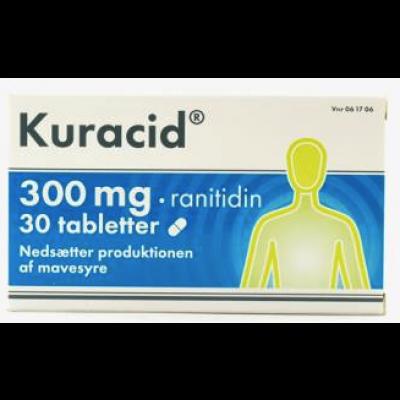 Kuracid Tabletter 300 mg (30 stk)