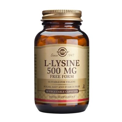 Solgar L-Lysin aminosyre 500 mg (50 kap)