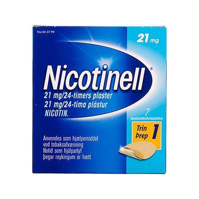 Nicotinell Nikotinplaster 21 mg (7 stk)