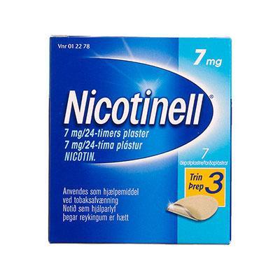 Nicotinell Depotplaster 7 mg (7 stk)