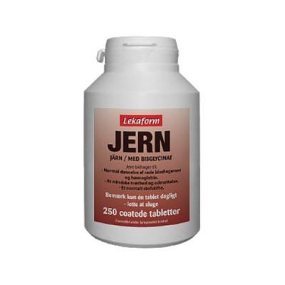 Lekaform Jern (250 tabletter)