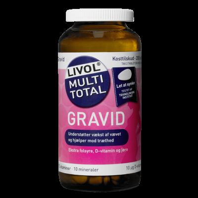 Livol Multi Total Gravid (200 tabletter)