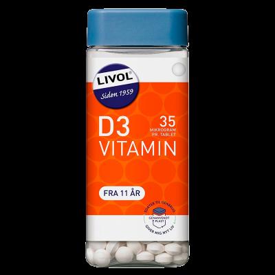 Livol Vitamin D 35 mcg (350 tabletter)