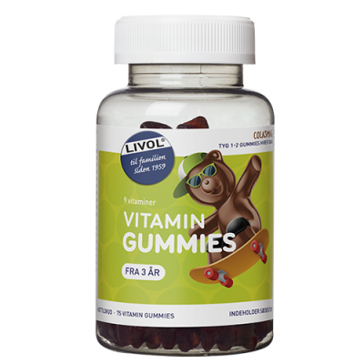 Livol Vitaminbjørne Cola (75 gummies)