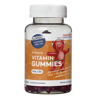 Livol Vitaminbjørne D-vitamin