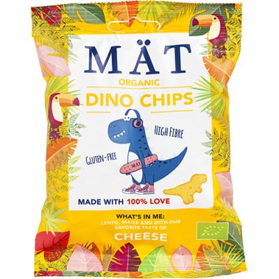 Mät Organic Dino Chips Cheese (35 g)
