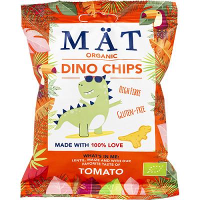 Mät Organic Dino Chips Tomato (35 g)