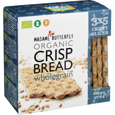 Madame Butterfly wholegrain crisp bread (225 g)