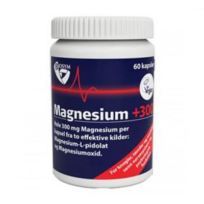 Biosym Magnesium +300 (60 kapsler)