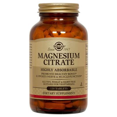 Solgar Magnesium Citrat 200mg (120 kaps)