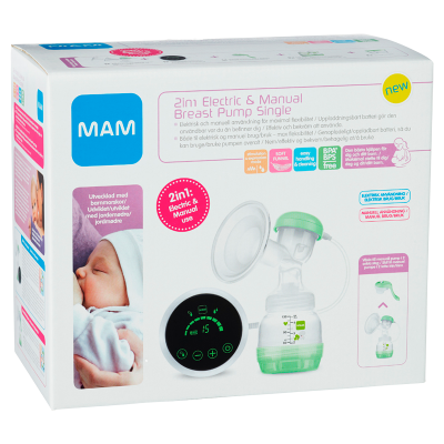 MAM Breast Pump Electric 2-in-1 (1 stk)