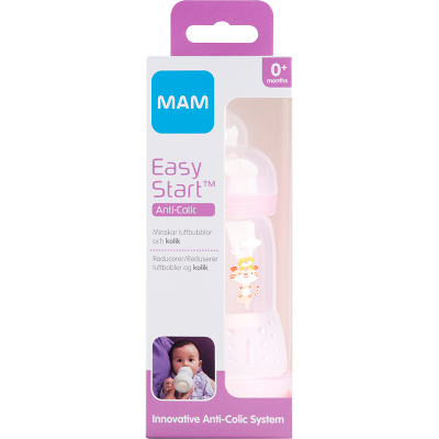 MAM Easy Start Anti-Colic Cup Pink (260 ml)