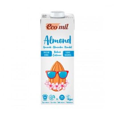 Ecomil Mandeldrik Ø m. calcium - u. sukker (1 liter)