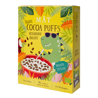 MÄT Organic Cereal Cocoa Puffs